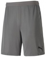 Puma teamFINAL 21 Knit Shorts steel grey Herren