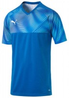 Puma CUP Jersey Jr Trikot electric blue-white Kinder