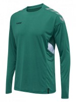 Hummel Tech MoveTrikot Langarm SPORTS GREEN Kinder