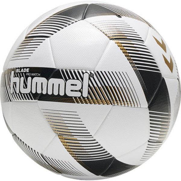Hummel Blade Pro Match Fußball Größe 5 white-black Unisex