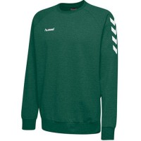 Hummel Go Cotton Sweatshirt evergreen Kinder