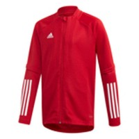 adidas Condivo 20 Trainingsjacke power red-white Kinder