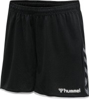 Hummel Authentic Poly Shorts schwarz-weiß Damen