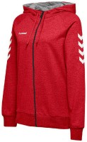 Hummel Go Cotton Kapuzenjacke true red Damen