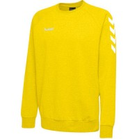 Hummel Go Cotton Sweatshirt sports yellow Kinder