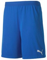 Puma teamFINAL 21 Knit Shorts electric blue lemo Herren