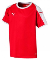 Puma LIGA Jr Trikot puma red-puma white Kinder