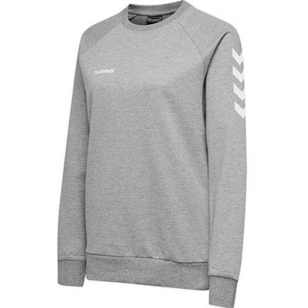 Hummel Go Cotton Sweatshirt grey melange Damen - Bild 1
