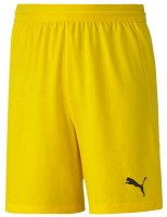 Puma teamFINAL 21 Knit Shorts cyber yellow Kinder