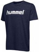 Hummel Go Cotton Logo T-Shirt marine Kinder