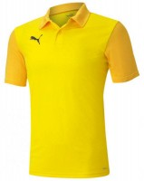 Puma teamGOAL 23 Sideline Polo Shirt cyber yellow-spectra Herren
