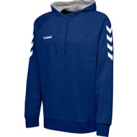 Hummel Go Cotton Kapuzenpullover true blue Kinder