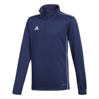 adidas Core 18 Trainingstop dark blue-white Kinder