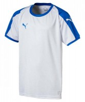 Puma LIGA Jr Trikot puma white-blue Kinder