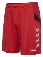 Hummel Tech Move Poly Shorts TRUE RED Herren