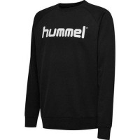 Hummel Go Cotton Logo Sweatshirt black Kinder