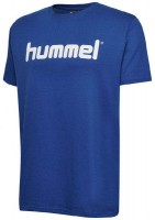 Hummel Go Cotton Logo T-Shirt true blue Kinder