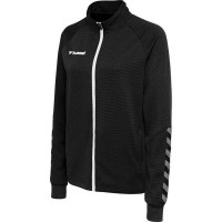 Hummel Authentic Poly Trainingsjacke black-white Damen