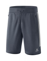 Erima Squad Worker Shorts slate grey-silver Kinder