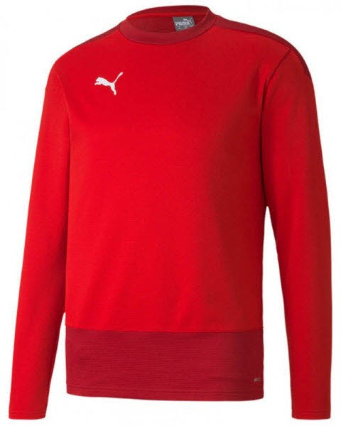 Puma teamGOAL 23 Training Sweat PUMA RED-CHILI PEPPE Herren - Bild 1