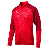 Puma CUP Training Poly Jr Jacket Core puma red-chili Kinder
