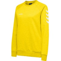 Hummel Go Cotton Sweatshirt sports yellow Damen