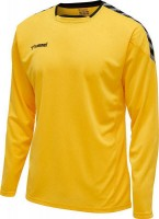 Hummel Authentic Poly Trikot langarm YELLOW-BLACK Herren