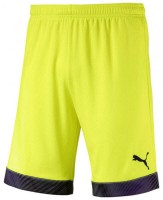 Puma CUP Shorts Jr fizzy yellow-black Kinder