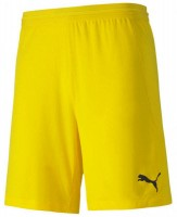 Puma teamFINAL 21 Knit Shorts cyber yellow Herren