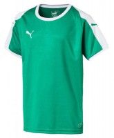 Puma LIGA Jr Trikot pepper green-white Kinder