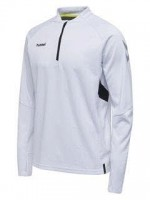 Hummel Tech Move Half Zip Sweatshirt WHITE Herren