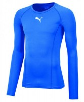 Puma LIGA Baselayer LS Funktionshirt electric blue Herren