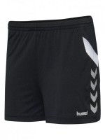 Hummel Tech Move Woman Poly Shorts Damen BLACK Damen