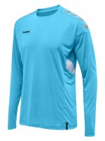 Hummel Tech MoveTrikot Langarm SCUBA BLUE Kinder