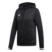 adidas Team 19 Kapuzenpullover black-white Damen