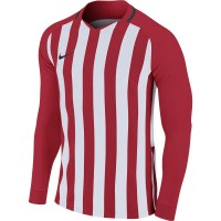 Nike Striped Division III Trikot UNIVERSITY RED/WHITE Kinder