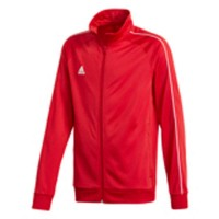 adidas Core 18 Polyesterjacke power red-white Kinder