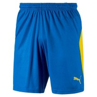 Puma LIGA Shorts electric blue-yellow Herren