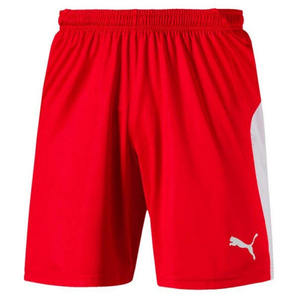 Puma LIGA Shorts puma red-puma white Herren