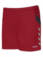 Hummel Tech Move Woman Poly Shorts Damen TRUE RED Damen