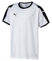 Puma LIGA Jr Trikot puma white-black Kinder
