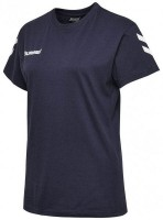 Hummel Go Cotton T-Shirt marine Damen