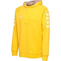 Hummel Go Cotton Kapuzenpullover sports yellow Kinder