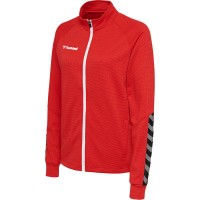 Hummel Authentic Poly Trainingsjacke true red Damen