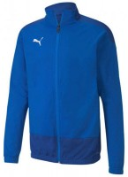 Puma teamGOAL 23 Training Jacke ELECTRIC BLUE LEMONA Herren