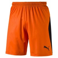 Puma LIGA Shorts golden poppy-black Herren