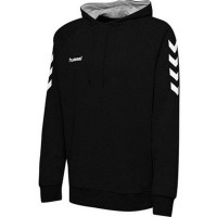 Hummel Go Cotton Kapuzenpullover black Kinder