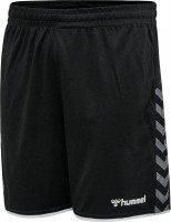 Hummel Authentic Poly Shorts black-white Herren