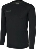 Hummel First Funktionsshirt Langarm black Herren