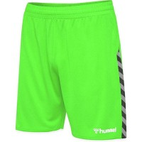 Hummel Authentic Poly Shorts green gecko Kinder
